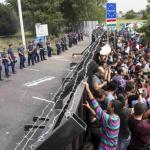 """Conflicto migratorio en Europa: """"la crisis humanitaria más importante desde la II Guerra Mundial""""."""