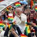 Visita papal a Ecuador, Bolivia y Paraguay.