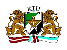 Logo Universidad Técnica de Riga