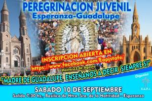 Peregrinación Juvenil a Guadalupe 2016