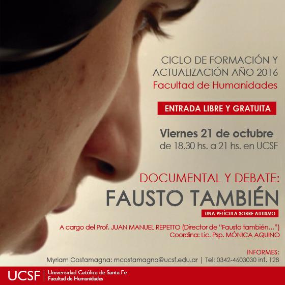 FAUSTO TAMBIEN - REDES SOCIALES