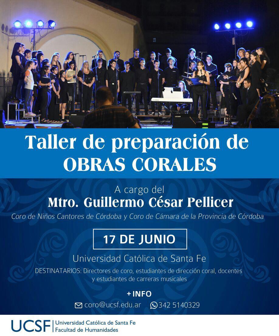 TALLER OBRAS CORALES