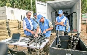 ONU armas FARC
