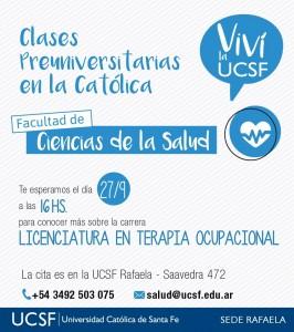 CLASES PREUNIV T.O - RAFAELA-2DO CUAT 2017