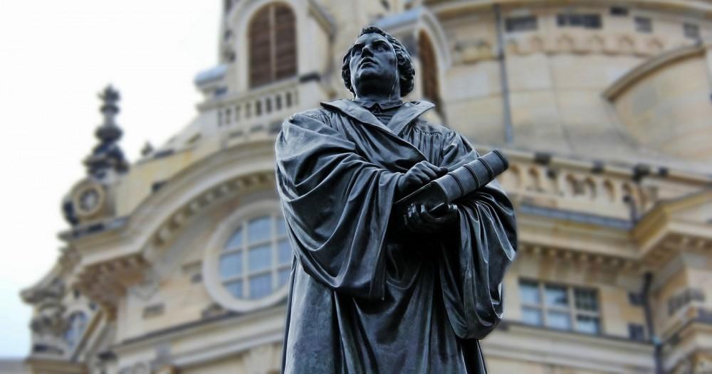 Estatua-de-martin-lutero