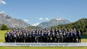 Los viceministros de Hacienda y vicepresidentes de Bancos Centrales de los países que integran el G20 en Bariloche