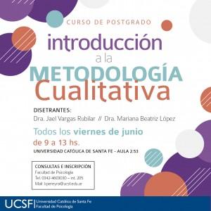 FACEBOOK - METODOLOGIA CUALITATIVA