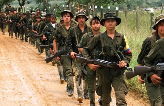 FARC children