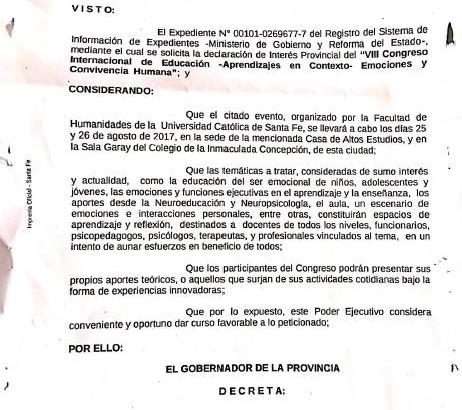 decreto 2351 provincia de santa fe 1