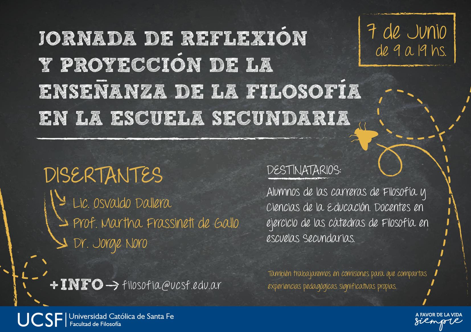FILOSOFIA EN ESCUELA SECUNDARIA - MAILING