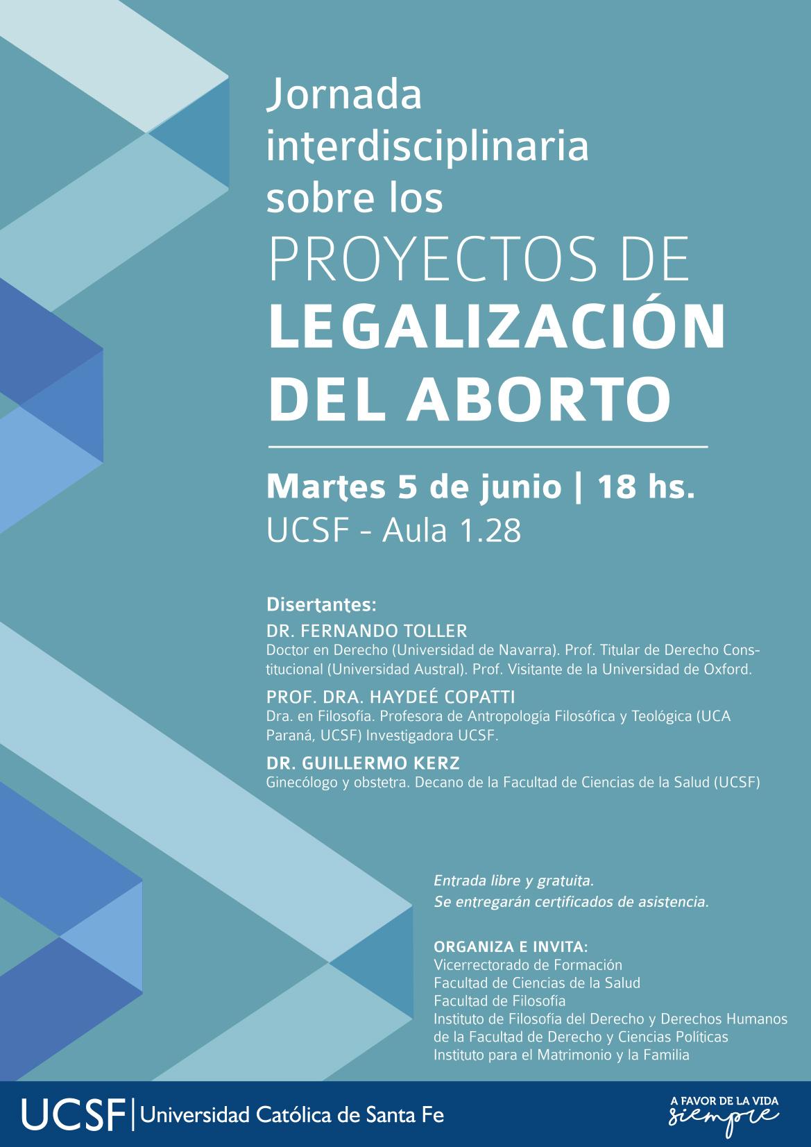 PROYECTOS DE LEGALIZACION DEL ABORTO