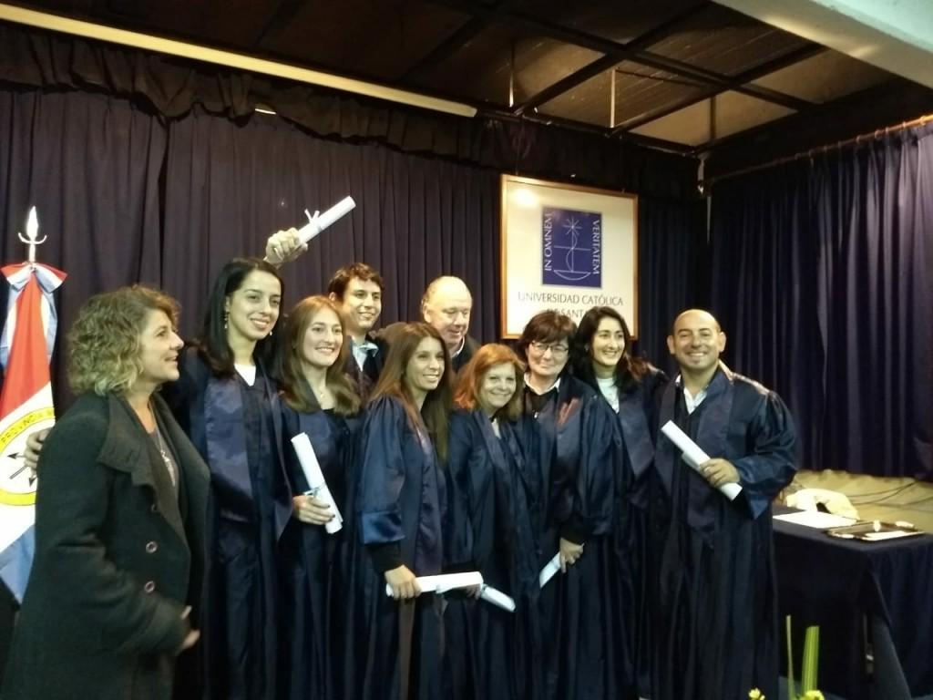 Primeros graduados EGIH-UCSF