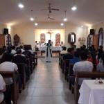 Misa por los estudiantes Posadas