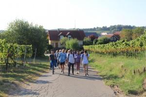 Retiro en Klingenmuster, con workshops de competencias intercultural para fomentar los vínculos entre los nuevos alumnos del máster.