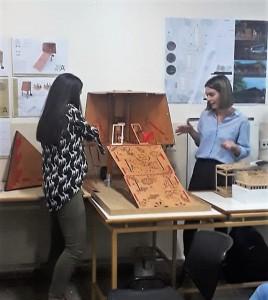 Construcciones en madera - Alumnos de la Facultad de Arquitectura