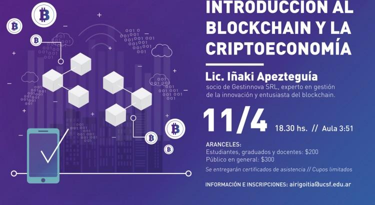 Blockchain y la criptoeconomía -