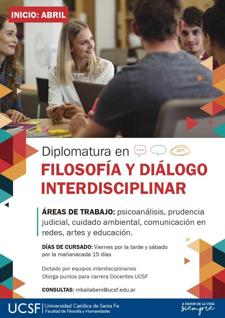 NUEVO - Diplomatura en Filosofía y diálogo interdisciplinar