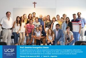 Prof. Emérita Evangelina Simón-01