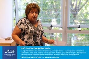 Prof. Emérita Evangelina Simón-02