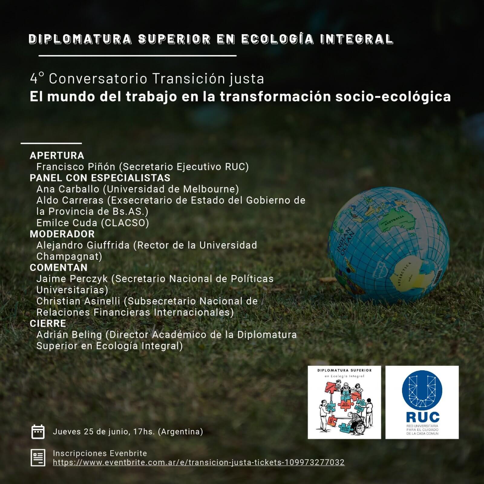 Transición justa: el mundo del trabajo en la transformación socio-ecológica